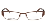 Dolce Luxy 6616 Stainless Steel Full Rim Unisex Optical Glasses