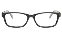 TDCQ 6020 Acetate(ZYL) Unisex Full Rim Square Optical Glasses