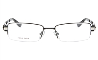 EFASHION H88146 Stainless Steel Male Full Rim Square Optical Glasses