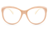 VOV 5132 Polycarbonate Unisex Full Rim Square Optical Glasses
