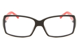 VOV 5145 Polycarbonate Unisex Full Rim Square Optical Glasses