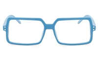 VOV 5135 Polycarbonate Unisex Full Rim Square Optical Glasses