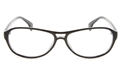 VOV 5180 Polycarbonate Unisex Full Rim Oval Optical Glasses