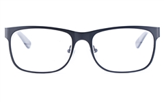 Vista First 1625 Stainless Steel/ZYL  Mens Round Full Rim Optical Glasses
